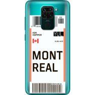 Силиконовый чехол BoxFace Xiaomi Redmi 10X Ticket Monreal (40367-cc87)