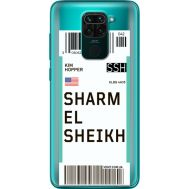 Силиконовый чехол BoxFace Xiaomi Redmi 10X Ticket Sharmel Sheikh (40367-cc90)