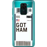 Силиконовый чехол BoxFace Xiaomi Redmi 10X Ticket Gotham (40367-cc92)