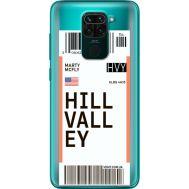 Силиконовый чехол BoxFace Xiaomi Redmi 10X Ticket Hill Valley (40367-cc94)