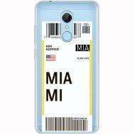 Силиконовый чехол BoxFace Xiaomi Redmi 5 Ticket Miami (35031-cc81)