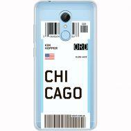 Силиконовый чехол BoxFace Xiaomi Redmi 5 Ticket Chicago (35031-cc82)