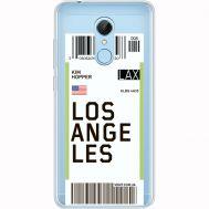Силиконовый чехол BoxFace Xiaomi Redmi 5 Ticket Los Angeles (35031-cc85)