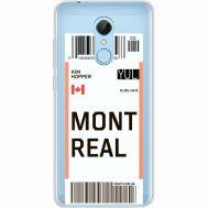Силиконовый чехол BoxFace Xiaomi Redmi 5 Ticket Monreal (35031-cc87)
