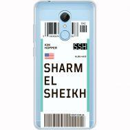 Силиконовый чехол BoxFace Xiaomi Redmi 5 Ticket Sharmel Sheikh (35031-cc90)
