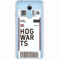 Силиконовый чехол BoxFace Xiaomi Redmi 5 Ticket Hogwarts (35031-cc91)