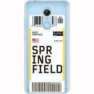Силиконовый чехол BoxFace Xiaomi Redmi 5 Ticket Springfield (35031-cc93)