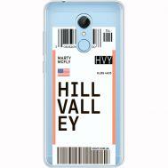 Силиконовый чехол BoxFace Xiaomi Redmi 5 Ticket Hill Valley (35031-cc94)