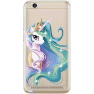 Силиконовый чехол BoxFace Xiaomi Redmi 5A Unicorn Queen (935028-rs3)