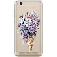 Силиконовый чехол BoxFace Xiaomi Redmi 5A Ice Cream Flowers (935028-rs17)