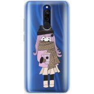 Силиконовый чехол BoxFace Xiaomi Redmi 8 Winter Morning Girl (38412-cc61)