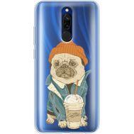 Силиконовый чехол BoxFace Xiaomi Redmi 8 Dog Coffeeman (38412-cc70)