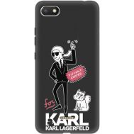 Силиконовый чехол BoxFace Xiaomi Redmi 6A For Karl (35160-bk38)