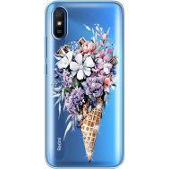 Силиконовый чехол BoxFace Xiaomi Redmi 9A Ice Cream Flowers (940305-rs17)