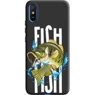Силиконовый чехол BoxFace Xiaomi Redmi 9A fish (40509-bk71)