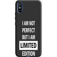 Силиконовый чехол BoxFace Xiaomi Redmi 9A limited edition (40509-bk73)
