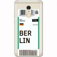 Силиконовый чехол BoxFace Xiaomi Redmi Note 4x Ticket Berrlin (35032-cc80)