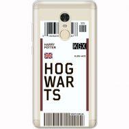 Силиконовый чехол BoxFace Xiaomi Redmi Note 4x Ticket Hogwarts (35032-cc91)