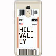 Силиконовый чехол BoxFace Xiaomi Redmi Note 4x Ticket Hill Valley (35032-cc94)