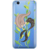 Силиконовый чехол BoxFace Xiaomi Redmi Go Cute Mermaid (36212-cc62)