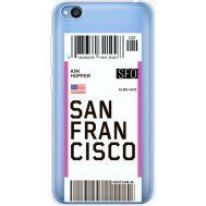 Силиконовый чехол BoxFace Xiaomi Redmi Go Ticket San Francisco (36212-cc79)