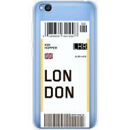 Силиконовый чехол BoxFace Xiaomi Redmi Go Ticket London (36212-cc83)