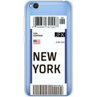 Силиконовый чехол BoxFace Xiaomi Redmi Go Ticket New York (36212-cc84)