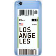 Силиконовый чехол BoxFace Xiaomi Redmi Go Ticket Los Angeles (36212-cc85)