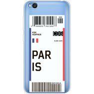 Силиконовый чехол BoxFace Xiaomi Redmi Go Ticket Paris (36212-cc86)