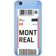 Силиконовый чехол BoxFace Xiaomi Redmi Go Ticket Monreal (36212-cc87)