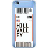 Силиконовый чехол BoxFace Xiaomi Redmi Go Ticket Hill Valley (36212-cc94)