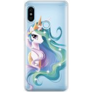 Силиконовый чехол BoxFace Xiaomi Redmi Note 5 / Note 5 Pro Unicorn Queen (934970-rs3)