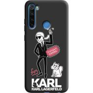 Силиконовый чехол BoxFace Xiaomi Redmi Note 8 For Karl (38332-bk38)