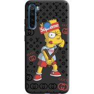 Силиконовый чехол BoxFace Xiaomi Redmi Note 8 Yellow Fun (38332-bk44)