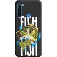 Силиконовый чехол BoxFace Xiaomi Redmi Note 8 Fish (38332-bk71)