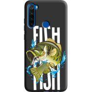 Силиконовый чехол BoxFace Xiaomi Redmi Note 8T Fish (38945-bk71)