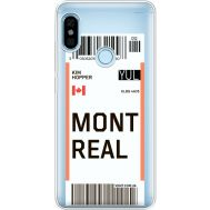 Силиконовый чехол BoxFace Xiaomi Redmi Note 5 / Note 5 Pro Ticket Monreal (34970-cc87)