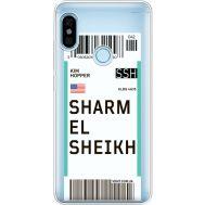 Силиконовый чехол BoxFace Xiaomi Redmi Note 5 / Note 5 Pro Ticket Sharmel Sheikh (34970-cc90)