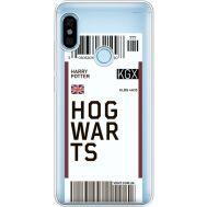 Силиконовый чехол BoxFace Xiaomi Redmi Note 5 / Note 5 Pro Ticket Hogwarts (34970-cc91)