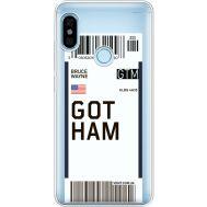 Силиконовый чехол BoxFace Xiaomi Redmi Note 5 / Note 5 Pro Ticket Gotham (34970-cc92)
