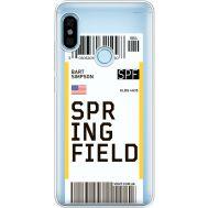 Силиконовый чехол BoxFace Xiaomi Redmi Note 5 / Note 5 Pro Ticket Springfield (34970-cc93)