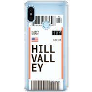 Силиконовый чехол BoxFace Xiaomi Redmi Note 5 / Note 5 Pro Ticket Hill Valley (34970-cc94)