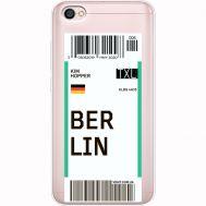 Силиконовый чехол BoxFace Xiaomi Redmi Note 5A Ticket Berrlin (35075-cc80)