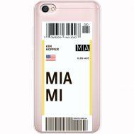 Силиконовый чехол BoxFace Xiaomi Redmi Note 5A Ticket Miami (35075-cc81)