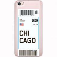 Силиконовый чехол BoxFace Xiaomi Redmi Note 5A Ticket Chicago (35075-cc82)