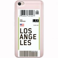 Силиконовый чехол BoxFace Xiaomi Redmi Note 5A Ticket Los Angeles (35075-cc85)