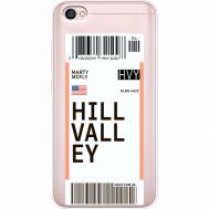Силиконовый чехол BoxFace Xiaomi Redmi Note 5A Ticket Hill Valley (35075-cc94)