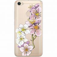 Силиконовый чехол BoxFace Xiaomi Redmi Note 5A Prime Cherry Blossom (35076-cc4)