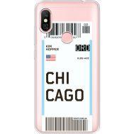 Силиконовый чехол BoxFace Xiaomi Redmi Note 6 Pro Ticket Chicago (35453-cc82)