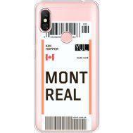Силиконовый чехол BoxFace Xiaomi Redmi Note 6 Pro Ticket Monreal (35453-cc87)